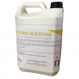 Hydro-oléofuge pour béton