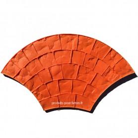 Moule de marquage pour béton empreinte modèle Basalte.