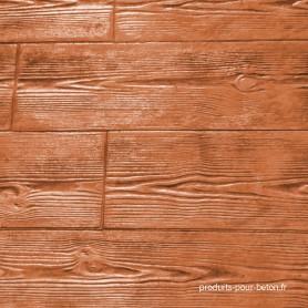 Rendu moules empreinte modèle bois