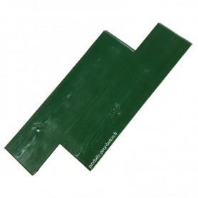 Moule de marquage pour béton empreinte modèle Bois deux planches.