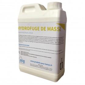 Hydrofuge de masse pour béton.
