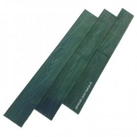 Moule empreinte pour béton effet bois 3 planches PPB
