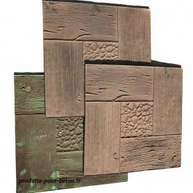 Moule empreinte à la location - planches carrées