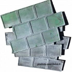 Moule de marquage pour béton pierres Belge - Matériel d'OCCASION - le jeu de trois pièces