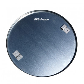 Plateau de lissage galvanisé pour truelle mécanique diamètre 60 cm.