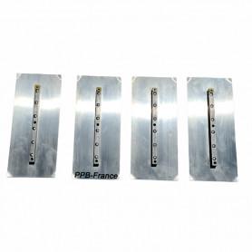 Pales acier pour truelle mécanique diamètre 90 ou 120 cm