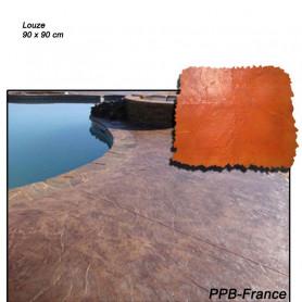 Moule de marquage pour béton empreinte modèle Pierre de Lauze.