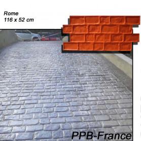Moule marquage pour beton empreinte pavés modele Rome