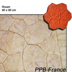 Moule pour béton imprimé - modèle Rouen