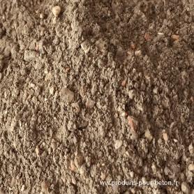 Quartz durcisseur minéral pour dallage industriel LIE DE VIN par 300 kg