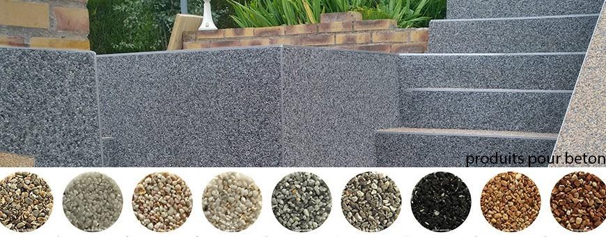 Granulats marbre moquette pierres ornement nid d'abeilles piscine