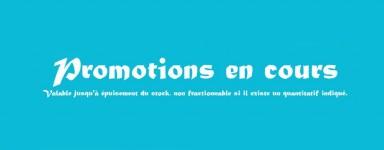 Promotions des produits pour béton