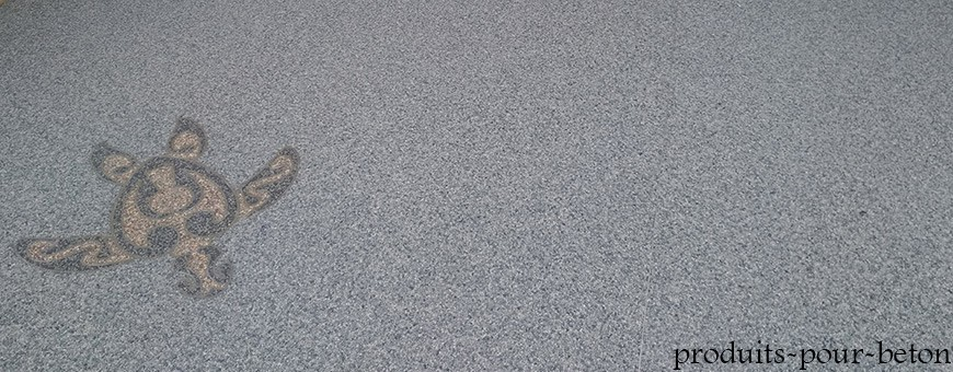 Résine polyuréthane pour moquette de pierres