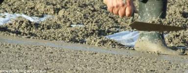 Adjuvants et additifs pour les dalles en béton.