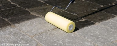 Protection des bétons. Pour éviter les tâches sur le béton.