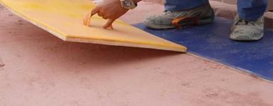 Moules pour béton empreinte - sol décoratif imprimé